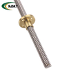 40mm Bore Lead Screws Customized Screw Length 6mm Lead